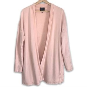 Gentle Fawn Pink SideSlit Cardigan